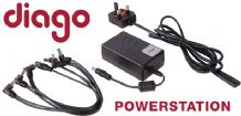 DIAGO POWERSTATION Guitar Pedal or FX 9 Volt Power Supply
